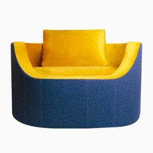 Shut Up Velvet Chair from Dehomecratic