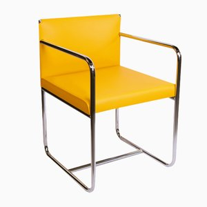 Mindly Chrome & Leather Chair from Dehomecratic
