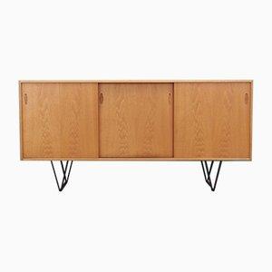 Dänisches Sideboard aus Eschenholz, 1970er