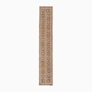 Antique Turkish Small Hallway Runner Rug