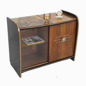 Art Deco Hand Painted Cabinet by Erika Balogh