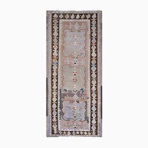 Hand Woven Turkish Oushak Kilim Flat Weave Wool Rug