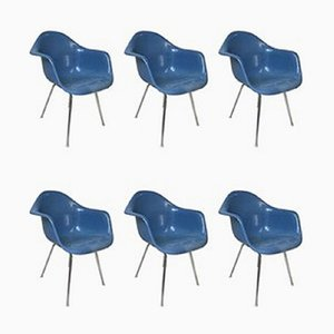 Bucket Chairs by Charles & Ray Eames for Vitra, Set of 6