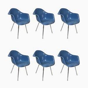 Sedie Bucket di Charles & Ray Eames per Vitra, set di 6