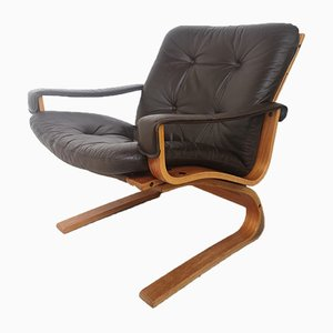 Lounge Chair by Elsa & Nordahl Solheim for Rybo Rykken & Co, 1970s