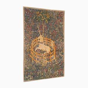 Antiker französischer Wandteppich, 1920er
