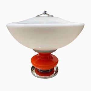 Ufo Tischlampe von Mazzega, 1974