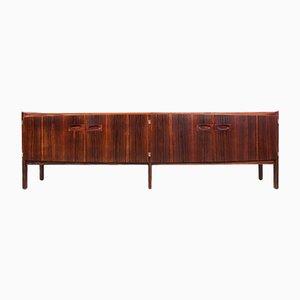 Long Rosewood Sideboard by Arne Hovmand-Olsen for Mogens Kold, 1960s