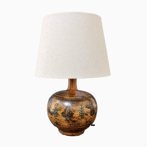 French Vintage Ceramic Table Lamp by Jacques Blin, 1950s