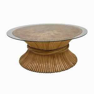 Wheat Sheaf Coffee Table by John and Elinor McGuire