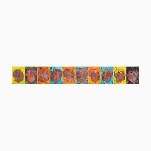 Salvatore Travascio, Face to Face 1, Painting, 2009