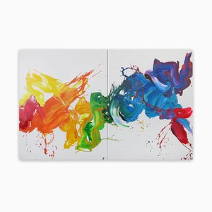 Emotions, Pintura abstracta, 2021