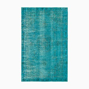 Turquoise Overdyed Rug