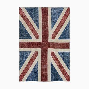Britische Flagge Patchwork Teppich