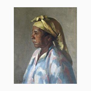 The Woman with Yellow Turban de E. Rosselli, 1947
