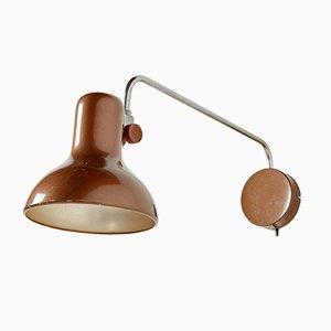 Braune Wandlampe