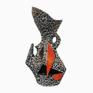 Geometrische Vase von Le Vaucour für Vallauris