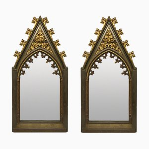 Big Gothic Mirrors, Early 19th Century, Set of 2