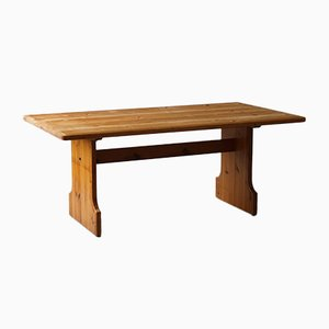 Rectangular Dining Table in Pine by Carl Malmsten for Karl Andersson & Søn