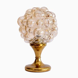 Bubble Glass Table Lamp by Helena Tynell for Glashutte Limburg, 1960s