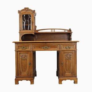 Antique Art Nouveau Writing Desk, 1890