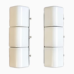 Modern Wall Sconces, 1970s, Set of 2