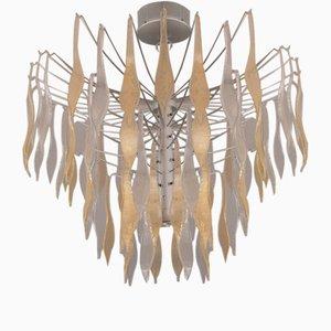 Lámpara de araña de cristal de Murano de Stilux