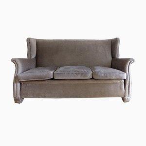 Vintage Velvet Sofa, 1970s