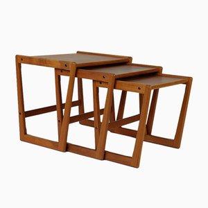 Danish Teak Side Table from Tønder Møbelværk, 1960s