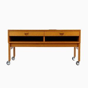 Dänisches Niedriges HiFi Sideboard aus Teak von H & G Furniture, 1960er