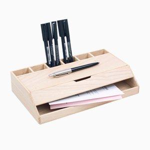 Estuche Wooden Desk Organizer from Oitenta