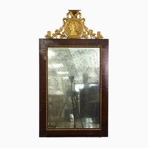 Frame with Mirror and Coping, France, 19th Century