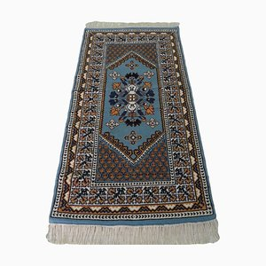Vintage Oriental Handknotted Wool Carpet Area Rug