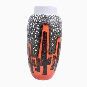 Fat Lava 553/52 Bodenvase aus Keramik von Scheurich, 1960er