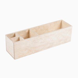 Wooden Wall and Desk Storage Box Organizer from Oitenta