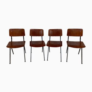 Mid-Century Industrial Chairs from Marko, Set of 4