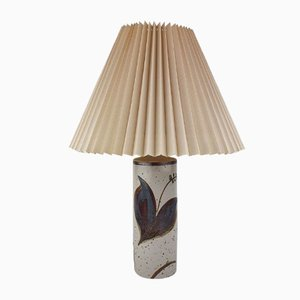Vintage Danish Ceramic Table Lamp by Heico Nietzsche for Søholm, 1970s