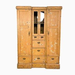 Antique Pine Wardrobe or Cabinet