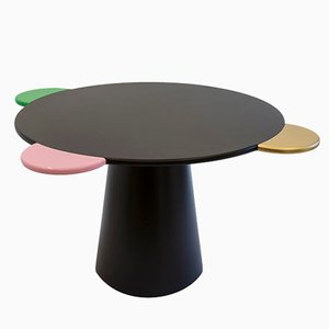 Table Donald Noire par Chapel Petrassi