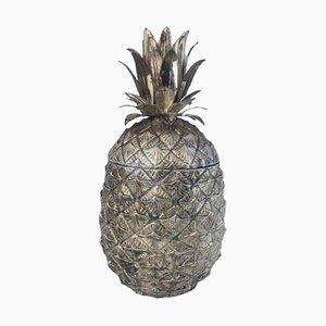 Italian Pineapple Ice Bucket by Mauro Manetti, 1950s