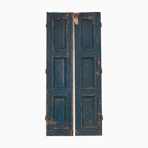 Puertas altas estilo Luis XVI, siglo XVIII. Juego de 2