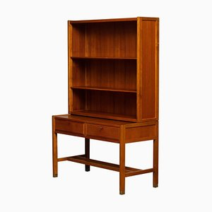 Teak Drawer and Shelf Cabinet by Carl Aksel Acking for Bodafors, Sweden, 1960s