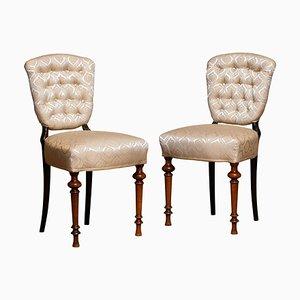 18th Century Swedish Side Chairs, Set of 2