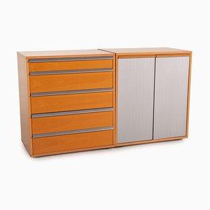 Braunes Sideboard aus Holz von Möller Design