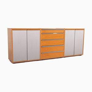Brown Wood Sideboard from Möller Design, Set of 2