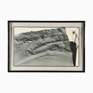 Impresión con composición abstracta, lienzo