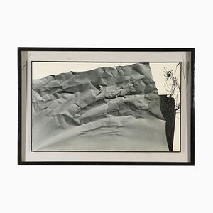 Print with Abstract Composition, Canvas