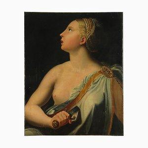 Romana Lucrezia, óleo sobre lienzo, 1540