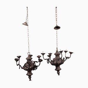 Lampadari in Torchiere, set di 2