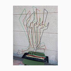 Escultura A16 de proyección y vibración de Medaglini, 1975